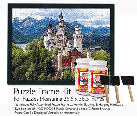 Mod Podge Jigsaw Puzzle Frame Kit - For Puzzles Measuring 26.5X38.5 Inches