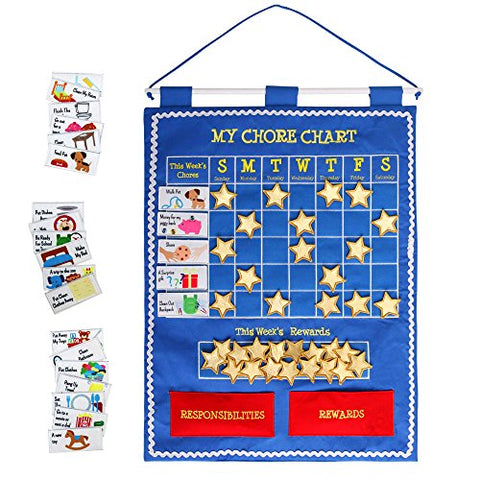 Alma's Designs Children's Chore Chart - Activity Wall Chart