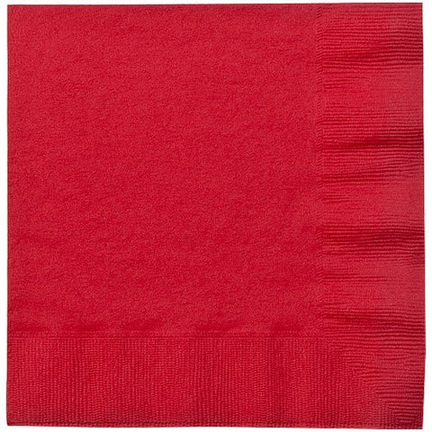 Party Dimensions Luncheon Napkin, 20 Count, Red