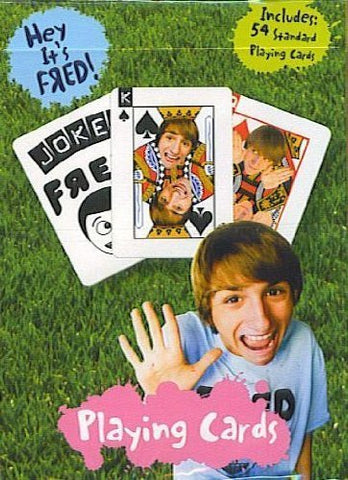 Hey It's Fred! Playing Cards