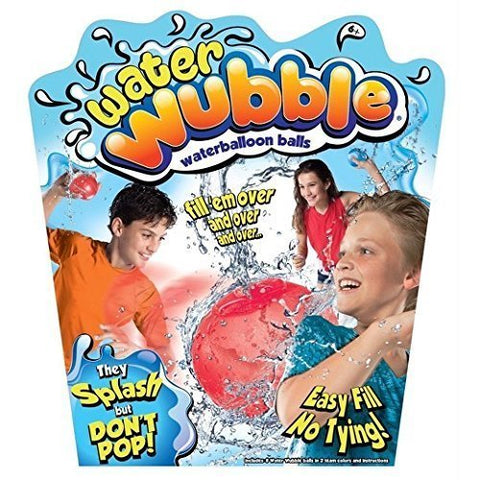 New! Water Wubble Reusable Waterballoon Balls As Seen On TV!!