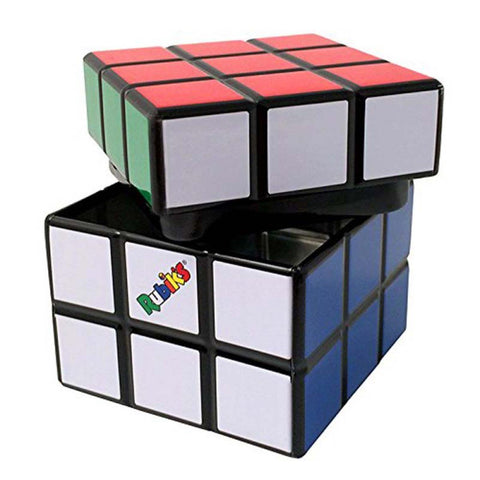 Boston America - Rubik'S Cube Candy Tin With Candy