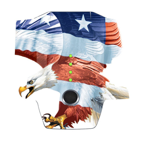 Mightyskins Skin Compatible With Dji Mavic Pro Battery  American Eagle | Protective, Durable, And Unique Vinyl Decal Wrap Cover | Easy To Apply, Remove, And Change Styles | Made In The Usa