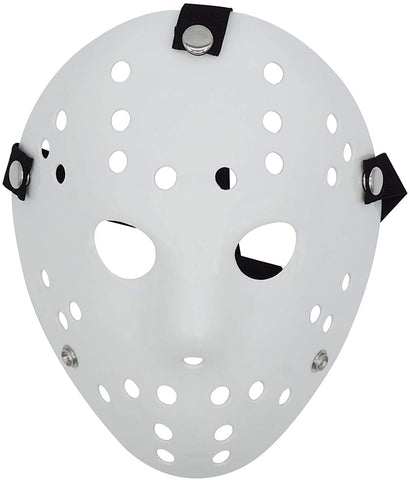 Lovful Costume Mask Prop Horror Halloween Cosplay Party Mask,White