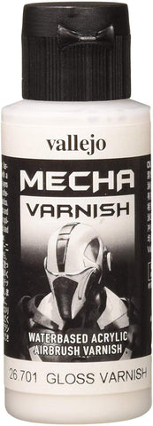 Vallejo Mecha Gloss Varnish 60Ml Painting Accessories