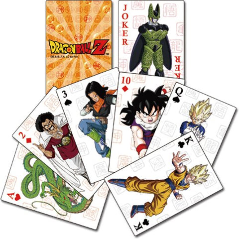 Great Eastern Entertainment Dragon Ball Z-Group Playing Cards