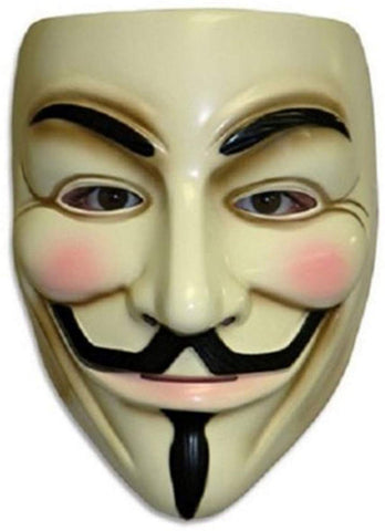 V For Vendetta Mask Costume Accessory