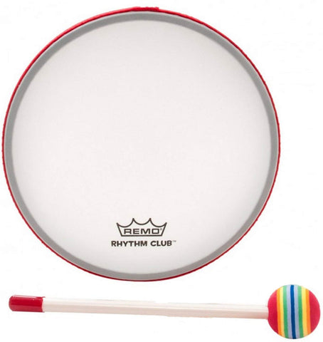 Remo Rhythm Club 10 Inch Hand Drum With Mallet (Age 3+)
