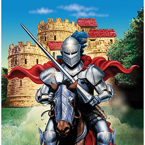 Creative Converting Valiant Knight 16 Count 3-Ply Paper Beverage Napkins