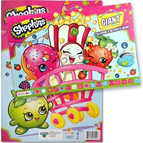 Wholesale Shopkins 11x16 Giant Coloring & Activity Book