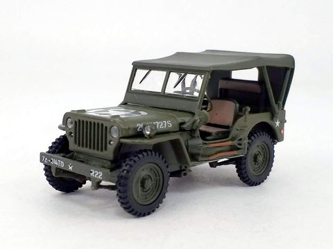 Willys Mb Jeep 4X4 Truck - 1/43 Scale Diecast Model