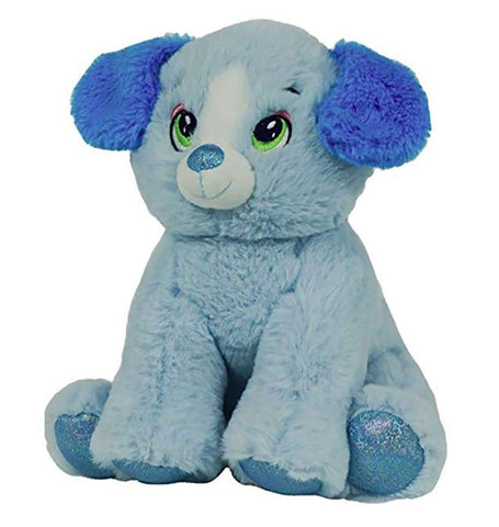 "Baby Heartbeat Bear / Recordable Voice Stuffed 8"" Plush Blue Puppy Dog"