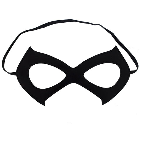 Cat Mask Costume Black Leather Eye Mask - Great Party/Cosplay/Dress-Up/Mardi Gras Accessory
