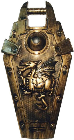 Child'S Shield With Dragon Costume Prop Or Play