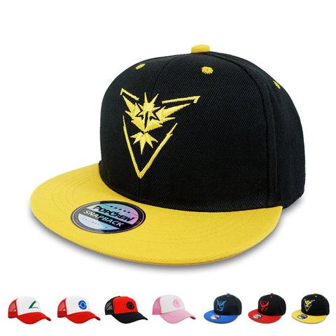 Popcrew Embroidered Team Trainer Hat For Anime Cosplay Costume, Trucker, Snapback Cap (Tms)