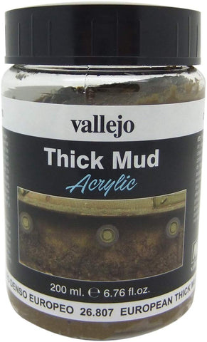 Vallejo European Thick Mud Model Paint Kit