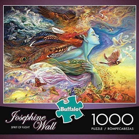 Buffalo Games Josephine Wall: Spirit Of Flight - 1000 Piece Jigsaw Puzzle By Buffalo Games, Model: 11721, Toys & Play