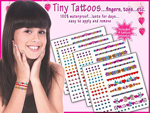 Tiny Tattoos....for Fingers, Toes,ears, Etc