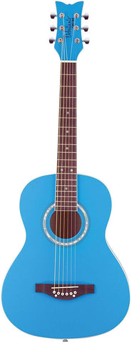 Other 6 String Acoustic Guitar, Right, Cotton Candy Blue (Other)