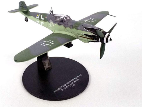 Messerschmitt Bf-109 (Bf-109G) 1/72 Scale Diecast Metal Model