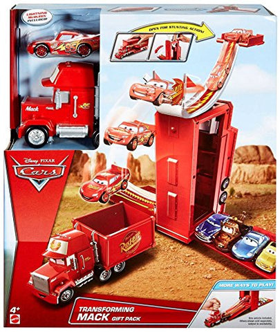 Disney Pixar Cars Transforming Mack Gift Pack