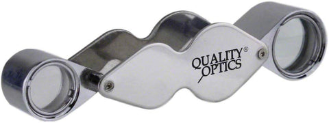 Quality Optics Loupe Magnifiers (Chrome - Dual)