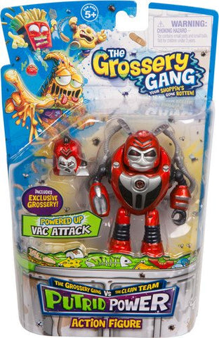 The Grossery Gang Season 3 Action Figurine - Vac Attack