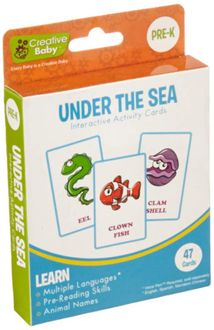 Creative Baby Activity Flash Cards - Under The Sea