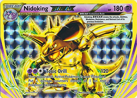 Pokemon - Nidoking BREAK (46/108) - XY Evolutions - Holo