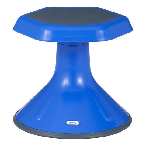 "Learniture Active Learning Chair/ Stool, 12"" H, Blue, Lnt-3046-12Bl"