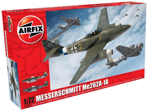 Airfix Messerschmitt Me262A-1A Schwalbe 1:72 Airplane Kit