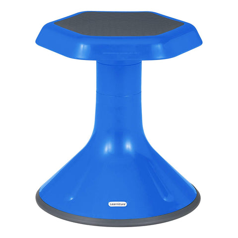 "Learniture  Active Learning Chair/ Stool, 15"" H, Blue, Lnt-3046-15Bl"