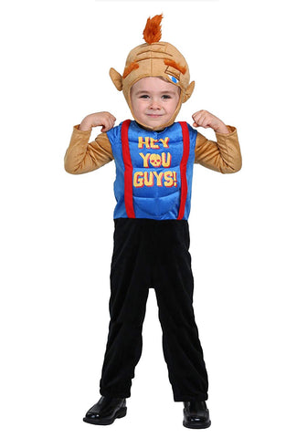 The Goonies Toddler Sloth Costume 18 Months Blue, Brown
