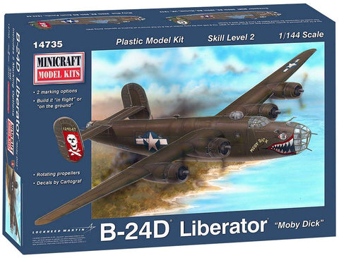 Minicraft B-24J Moby Dick