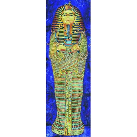 "Mcdonald Publishing Mc-V1606 Egyptian Mummy Case Colossal Concept Poster, 17.9"" Wide, 22.4"" Length, 0.1"" Height"