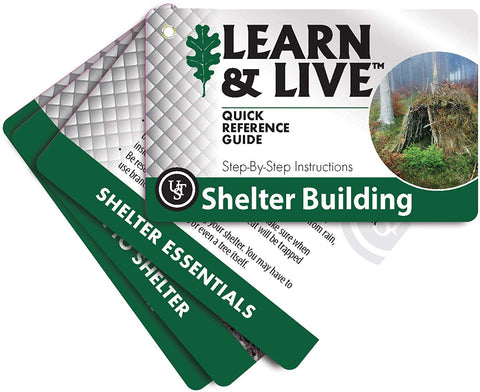 Ust Learn & Live Educational Card Set, Shelter Building