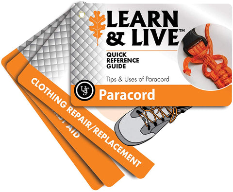 Ust Learn & Live Educational Card Set, Paracord