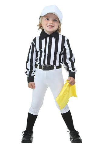 Toddler Referee Costume 4T