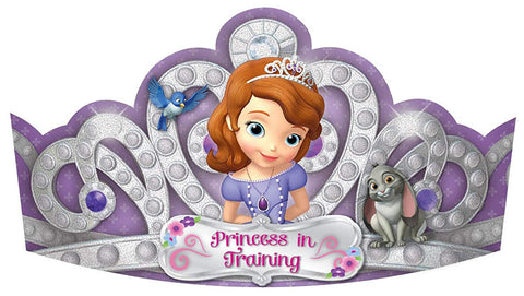 Sofia The First 734; Paper Tiaras