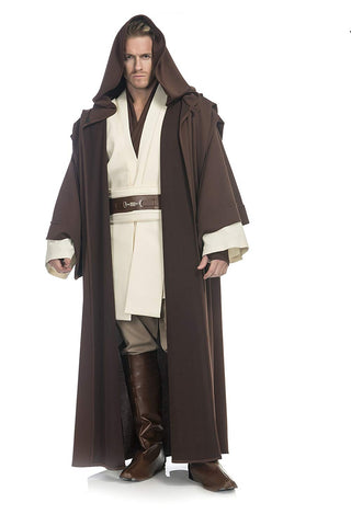 Star Wars Deluxe Obi Wan Kenobi Costume, Medium