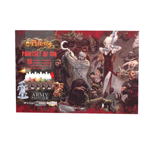 The Others Paint Set Of Sin Miniature Painting Kit By The Army Painter