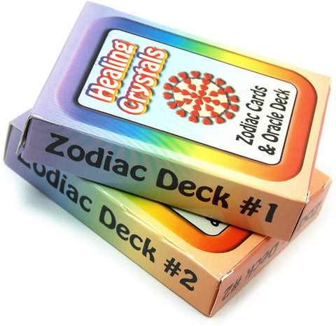 Crystal Information Cards/Zodiac Deck #1-55 Cards