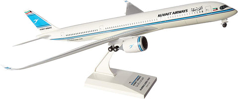 Skr883 Skymarks Kuwait Airways A350-900 1:200 W:Gear Model Airplane