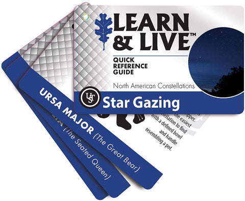 Ust Learn & Live Educational Card Set, Star Gazing