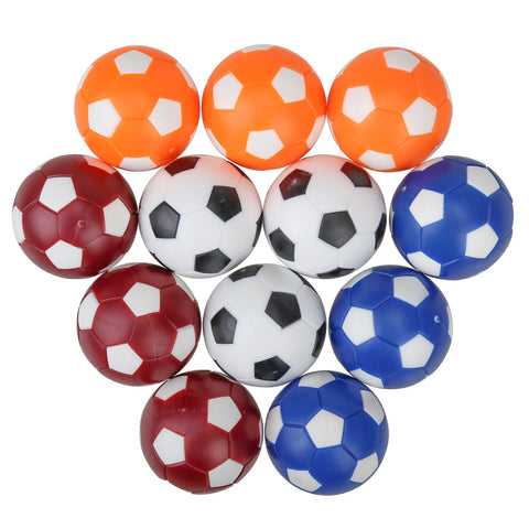Welcomy Table Soccer Foosball Replacement Balls, Mini Colorful Soccer 36Mm Table Foosball Balls For Your Table Foosball Games