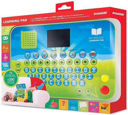Dreamgear Learning Pad - Educational Toy Tablet With 270+ Games Including Abc Sound, Math, And Stories