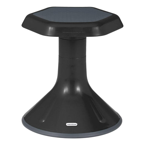 "Learniture Active Learning Chair/ Stool, 15"" H, Black, Lnt-3046-15Bk"