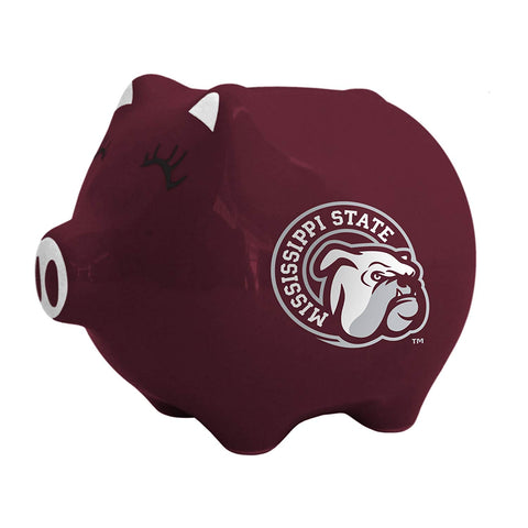 Ncaa Mississippi State Bulldogs Ceramic Piggy Bank