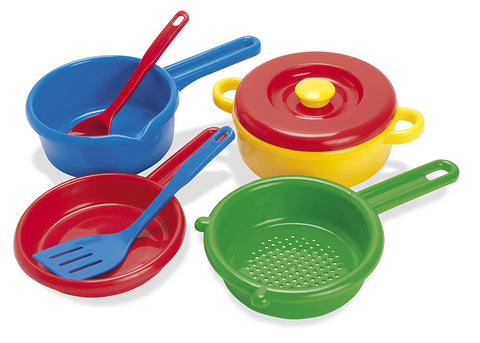 "American Educational Products Dt-4206 Pot, Sieve And Pan Activity Set, 3.904"" Height, 6.822"" Wide, 11.5051"" Length"