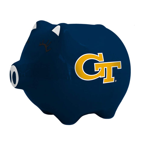 Ncaa Georgia Tech Yellow Jackets Ceramic Piggy Bank